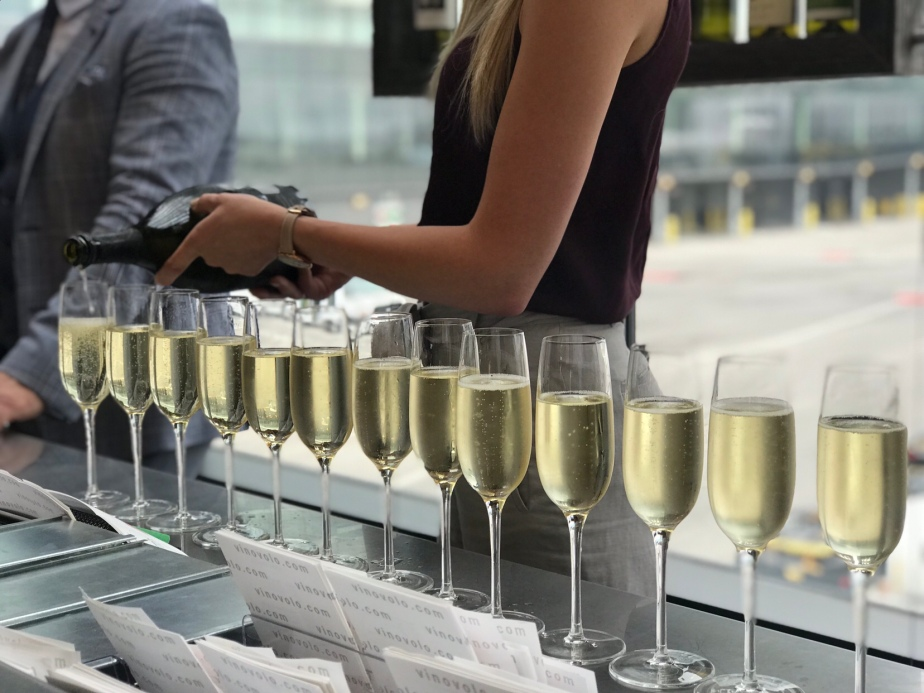 Vino Volo's Grand Opening: YYC Airport Domestic Location